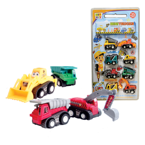 Mini Trucks Fricção RF831