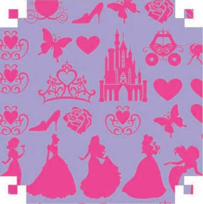 Dupla Face (color set) Licenciados Disney 150G 48x66cm